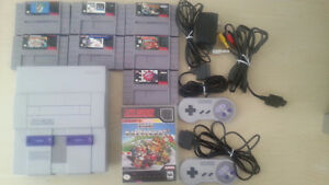 SNES FOR SALE WITH GAMES