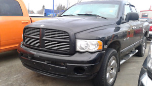2005 Dodge Ram 1500 Laramie Quad Cab 4x4 Hemi Loaded Black