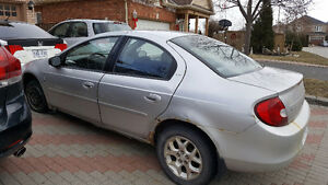 2001 Chrysler Neon winter tires Sedan