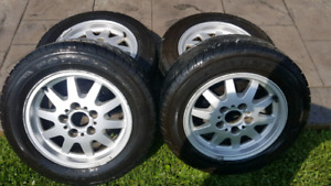 BMW 15 inch Rims With Tires
