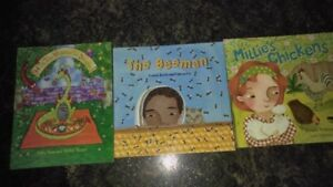 Collection of  4 Children's Books Ages 3+
