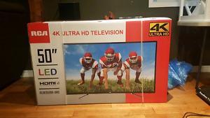 "RCA 50"" 4K Ultra HD TV $400.00 OBO"