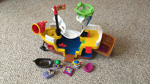 Fisher Price Little People Pirate Ship
