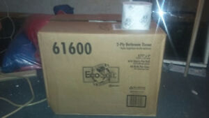 New boxes of Toilet paper 2 ply 48 rolls per case