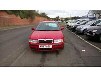 Red Skoda Octavia Estate 1.9TDI Classic Diesel 2 owners F.S.H 2007