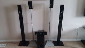 LG 5.1 SYSTEM SPEAKERS, (SPEAKERS ONLY) – USED   From LG Smart T