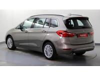 2017 BMW 2 Series 1.5 218i Luxury (s/s) Petrol silver Automatic