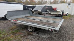 2001 Easton Double Snowmobile trailer