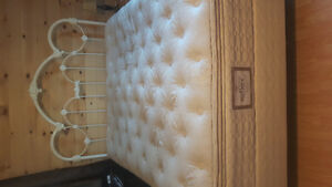 Queen size bed plus box spring and mattress