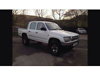 Wanted Toyota hilux