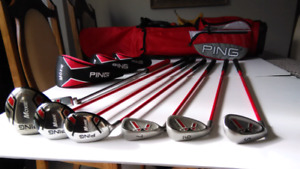 PING MOXIE JUNIOR GOLF SET for 9-13 yrs old MINT CONDITION