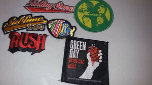 Rock Jacket Patches