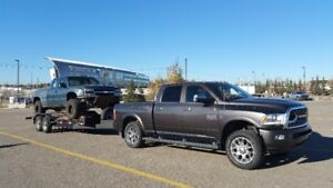 Automotive Flat Deck Towing, 4x4 Rescue Flat Rate in Town!