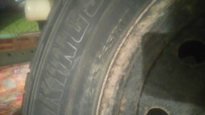245/65/ r17 Winter Tires & Rims Used