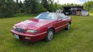 1994 CHRYSLER LEBARON SRS CONVERTIBLE