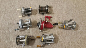 ANTIQUE VINTAGE FISHING REELS MANY MODELS TO CHOOSE