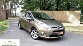 2012/12 Ford Fiesta 1.25 (82ps) Zetec, 1 Owner, Service history, excellent!