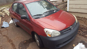 2003 Toyota Echo ONLY 155 000kms