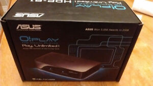 Asus O Play Streaming Media Player HDMI MKV AVI