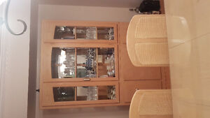7 piece dining room suite with China cabinet