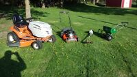 Lawn Care serving all of the Kawarthas