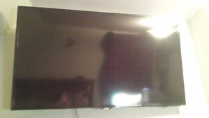"""55"""" Samsung smart TV with wall mount"""