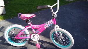 Girl's Barbie Bicycle