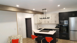 Brand new All-inclusive furnished short term apartment