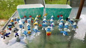 McDo Smurfs - Schtroumpfs McDo