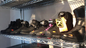 SELECT MOTORCYCLE BOOTS NOW 40% OFF AT HFX MOTORSPORTS!!