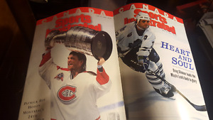 TWO CANADA SPORTS ILLUSTRATED MAGAZINES 1993