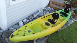REDUCED - 13.5' Tandem kayak - Perception Tribe