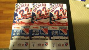 Kitchener Ranger Tickets for October 30-16 at 2pm