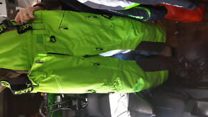 New FXR Lime Green Pants