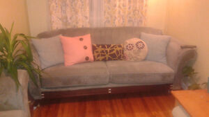 Plush couch and love seat set St. John's Newfoundland image 1