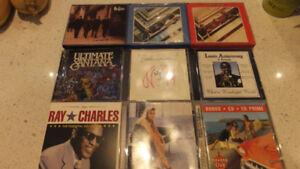 CD de musiques - Beatles et autres