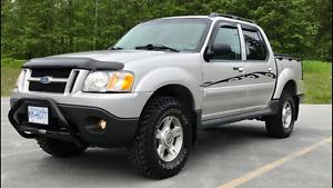 2004 Ford Explorer Sport Trac Crew 4x4 Pickup Truck
