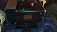 perfect condition all in one Lexmark printer, ink included!!!