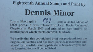 Dennis Minor Limted Edition Print $300. Prince George British Columbia image 7