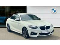 2019 BMW 2 Series 220d M Sport 2dr [Nav] Diesel Coupe Coupe Diesel Manual