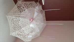 Wedding decor - beautiful umbrella