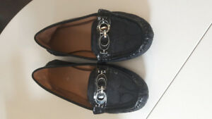Coach loafers new condition