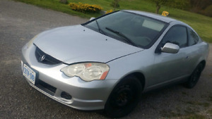 2003 Acura RSX Grey Coupe (2 door)