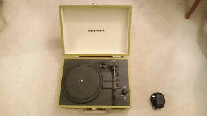 Crosley Radio Cruiser Portable Record Player (Green) $70 OBO