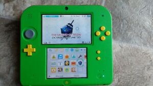Nintendo 2DS with Ocarina of Time 3D