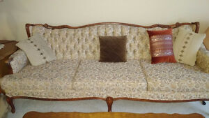 Vintage French Provincial Sofa/Chair