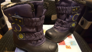 Toddler boys girls winter boots ACTON brand SZ  8 EUR 25