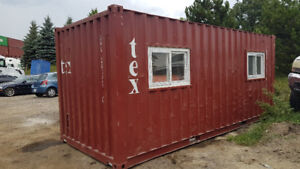 Mobile Office Shipping container 20ft long - for Sale and Rent
