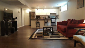 Beautiful All Inclusive 1 Bdrm Apt with A/C, Laundry, Dishwasher