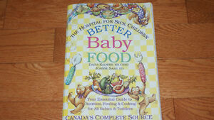 2 Books - Better Baby Food & Better Food for Kids